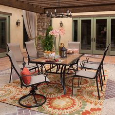 Patios And Outdoor Living On Pinterest Furniture Patio And Outdoor Dining Set