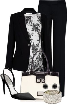 """Work"" by glamatarian on Polyvore"