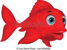red fish clip art - Google Search