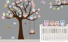 Creating the PERFECT owl-themed nursery