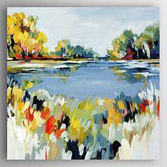 【今だけ☆送料無料】 アートパネル  自然・風景画1枚で1セット 池 湖 お花 フラワー 景色【納期】お取り寄せ2~3週間前後で発送予定