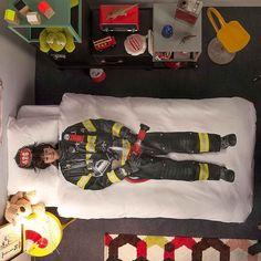 Housse de couette enfant Pompier Snurk