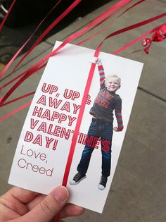Balloon valentine's -- another great non-candy valentine