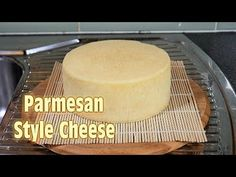 How to Make Parmesan Cheese (Italian Hard Cheese) at Home (better known as Parmisiano Reggiano) Cheese Maker, Cheese Recipes, Parmesan Cheese Recipe, Sauce Recipes, Italian Cheese, How To Make Cheese, Making Cheese At Home, Homemade Cheese, Diy Food