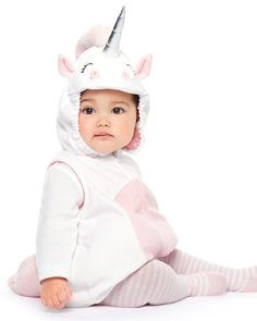 Baby Girl Little Unicorn Halloween Costume from Carters.com. Shop clothing & accessories from a trusted name in kids, toddlers, and baby clothes.