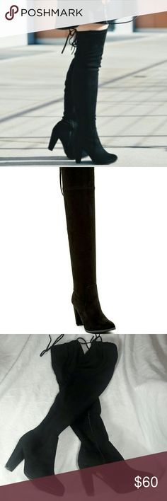 Catherine Malandrino Over the Knee Boots Size 9 Catherine Malandrino Over the Knee Boots Size 9 (these boots are new however the tags are no longer attached. There is some minor stuffing on the bottom of the shoes. See pictures!)  S2-101 Catherine Malandrino Shoes Over the Knee Boots