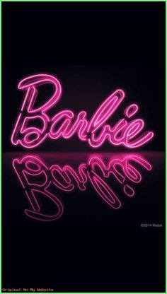 Iphone Wallpaper Disney - iPhone and Android Wallpapers: Barbie Wallpaper for iPhone and Android - Wallpaper - Wallpaper Wallpaper Iphone Neon, Iphone Wallpaper Tumblr Aesthetic, Aesthetic Pastel Wallpaper, Aesthetic Wallpapers, Neon Light Wallpaper, Glitter Wallpaper, Black Wallpaper, Pink Neon Sign, Neon Signs