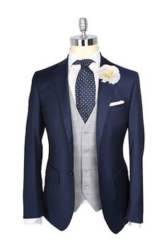 If doing blush and navy, this would be good for the men