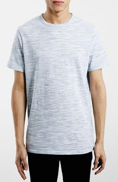 Men's Topman Slim Fit Space Dye T-Shirt