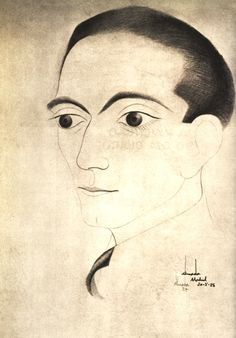 Self-Portrait, 1928 Jose de Almada-Negreiros