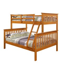 Donco Kids Light Mission Full & Twin Bunk Bed
