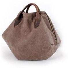 Coffee Portable bag Retro Messager Canvas Big Bag Single Shoulder For Women Bag