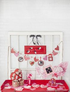 Turn our fantastic collection of Valentine's Day craft supplies into gotta-love-it home accessories and party decor. Here's a host of ideas to get you started!
