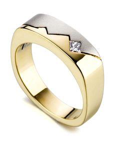 bolt men's wedding band - mark schneider design