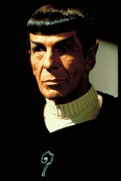 Photo of 'Leonard Nimoy' in 'Star Trek II: The Wrath of Khan' Star Trek Ii, Star Wars, Star Trek Enterprise, I Movie, Movie Stars, Star Trek Images, Star Trek Original Series, Star Trek Movies, Leonard Nimoy