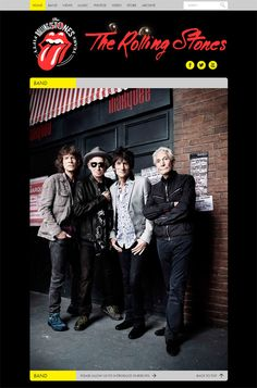 Rolling Stones WordPress Website  2nd on my Bucket List, to see the Rolling Stones in concert! ;P