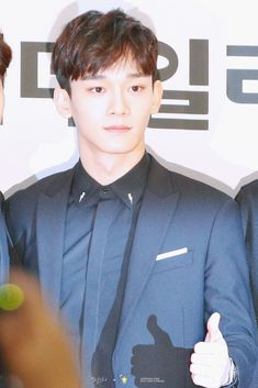 170216 CHEN - EDAILY CULTURE AWARDS RED CARPET #EXO
