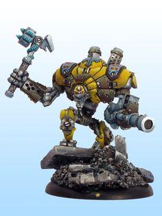 Warmachine Cygnar Heavy Warjack Defender