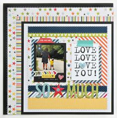 Bella Blvd. Max collection layout by Stephanie Buice.