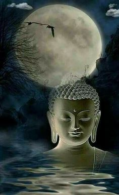 """""""I believe the lasting revolution comes from deep changes in ourselves which influence our collective life. """"    ~ Anais Nin    ♥ lis Image Yoga, Image Zen, Buddha Artwork, Buddha Painting, Buddha Buddhism, Buddhist Art, Buda Wallpaper, Buddha Tattoos, Buddha Sculpture"""