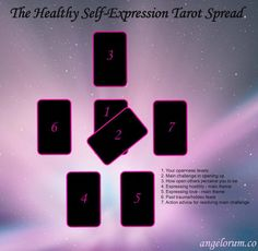 A Tarot spread to help you develop healthy self-expression. Part 3 in the Top Five Regrets of the Dying Tarot Spreads series. Reiki, Chakra, Tarot Cards For Beginners, Tarot Prediction, Meditation, Tarot Card Spreads, Tarot Astrology, Images Esthétiques, Oracle Tarot