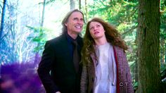 Belle and Rumpelstiltskin from Once upon a time... love that show but this is a funny pic!!