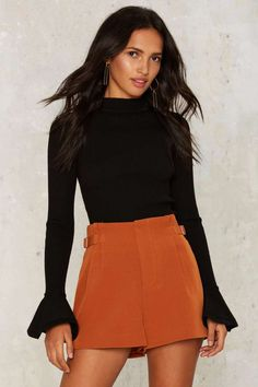 Diane High-Waisted Shorts - Sale: Newly Added | Sale: 40% Off | Shorts | Going Out | High Waisted