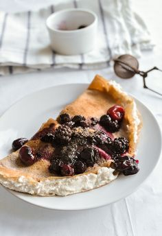 Gluten Free Tuscan Chestnut Crepes filled with Sweet Ricotta | Food Recipes HQ