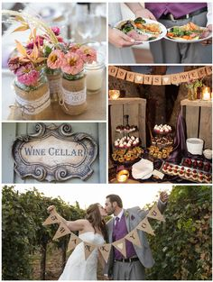 Real Weddings: A Romantic Vineyard Wedding