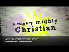 """▶ """"I Am A Christian"""" - kids song about the Armor Of God Lyrics Ken Blount - YouTube"""