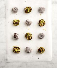 pistachio truffles | best Christmas Cookie recipes