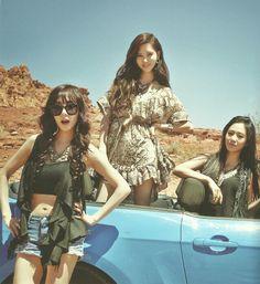 GG - Tiffany,  Seohyun and Yuri