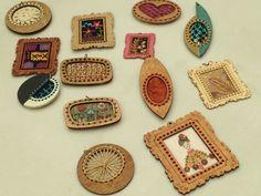 crochet art jewelry