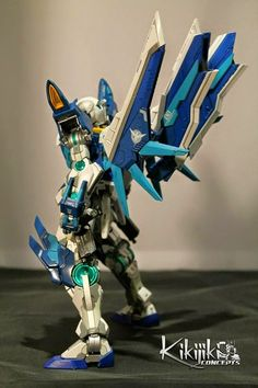 GUNDAM GUY: 1/100 00 Gundam Ryuu - Custom Build