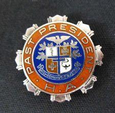 HA Nursing Hospital Association Past President Sterling Lapel Badge Pin OLD in Collectibles, Science & Medicine (1930-Now), Medicine, Dentistry | eBay