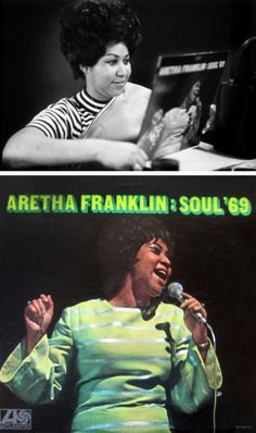 "Aretha Franklin ""Soul '69"" (1969) LP"