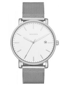 76c056557a64 Buy Skagen Men s Hagen Date Mesh Bracelet Strap Watch