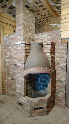 Perinnetulisijat - HS Muuraus ja Laatoitus Oy Concrete, Oven, Pizza, Lighting, Stone, House, Home Decor, Fire, Rock