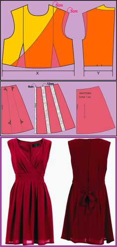 Red Chiffon Dress...♥ Deniz ♥