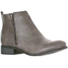 Riverberry Women's 'Avery' Zip-Up Ankle Boot, Gray