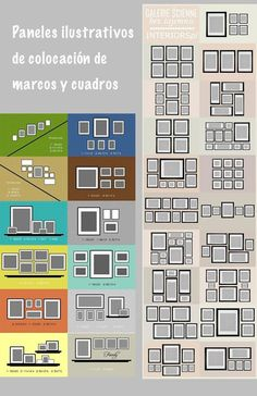 New Diy Decoracion Paredes Decoration Ideas Home Decor Wall Art, Diy Room Decor, Gallery Wall Layout, Art Gallery, Trendy Home, Bedroom Wall, Diy Bedroom, Picture Wall, Frames On Wall