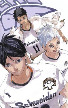 Manga Art, Manga Anime, Anime Art, Haikyuu Manga, Japanese Poster Design, Haruichi Furudate, Haikyuu Wallpaper, Kageyama Tobio, Kagehina