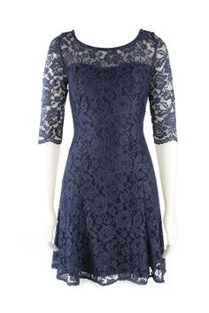 Quba - Charlotte Dress in Ink - Cocktail - Frockaholics / Online Shopping / Clothes Online / Shoes Online / Accessories Online