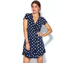 Krátke šaty s bodkami | modino.sk #ModinoSK #modino_sk #modino_style #style #fashion #summer #dress Wrap Dress, Boho, Dresses, Fashion, Vestidos, Moda, Gowns, Wrap Around Dress, Bohemian