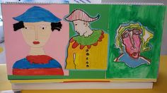 Painting, School, Art, Painting Art, Paintings, Painted Canvas, Drawings