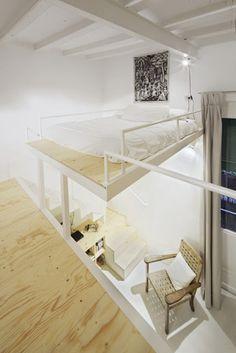 我們看到了。我們是生活@家。: 約12坪挑高4.5米的西班牙Barcelona小閣樓