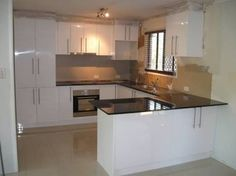 Image result for small u-shaped kitchen design layout