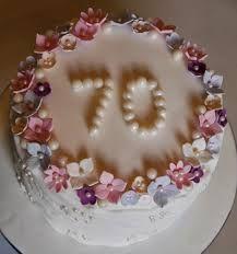 70th Birthday Cake Ideas For Mum