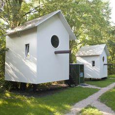 Super max 4 pers. Logeren in een Vogelhuisje. Het kan in Nederland!