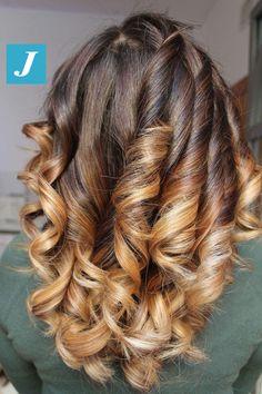 Gradazioni e sfumature _ Degradé Joelle #cdj #degradejoelle #tagliopuntearia #degradé #igers #musthave #hair #hairstyle #haircolour #longhair #ootd #hairfashion #madeinitaly #wellastudionyc